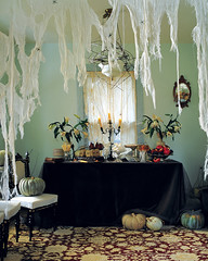 Cheesecloth Spiderwebs (AllHalloweener) Tags: halloween halloween2016 halloweenfun halloweeniscoming diyprojects halloweendecorations halloweenfacts halloweenholiday darkness evil fear candies party halloweenparty sayingsabouthalloween halloween31oct halloweencelebrations halloweenisfun halloweenvisits travel places recipes halloweenpranks halloweencostumes halloweenmakeup halloweenstories halloweenartists halloweenalbums halloweendiy halloweenexteriordecoration