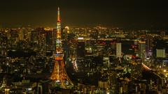 Tokyo Tower (elenaleong) Tags: tokyomoritower tokyonightscape tokyotower elenaleong roppongihills
