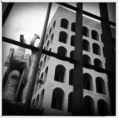 Fascist Rome .. the Palazzo della Civiltà Italiana.