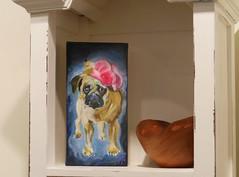 RAC Holiday Gift Show (caboose_rodeo) Tags: favorite pug 1654 somebodyelsesdog rowaytonartscenter145rowaytonavenuerowaytonct