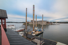 810_2610 (Bengt Nyman) Tags: building sweden stockholm fortress defense kastellet vaxholm 2014 frja