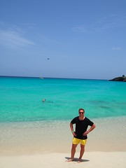 Mahe beach, St Marteen.