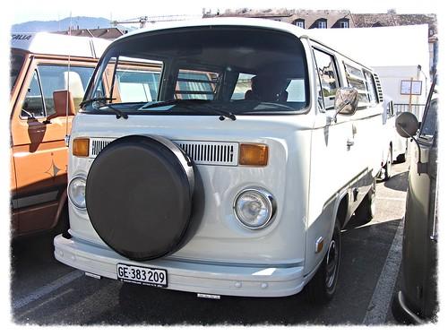 VW Combi T2b Camper