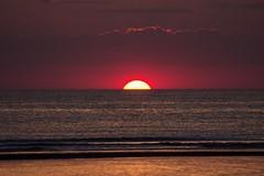 IMG_4798 (Leif Hinrichsen) Tags: sunset summer beach strand denmark island sonnenuntergang sommer insel northsea dänemark danmark nordsee abendhimmel sandstrand rømø röm nordseeinsel