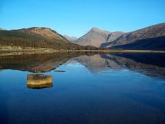 Portrait 065 (lordblakey) Tags: uk lake mountains reflection water landscape scotland highlands scottishlandscape uklandscape scottishlake