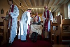 Archbishop Bernard Longley celebrated Mass with  retired priests (Catholic Church (England and Wales)) Tags: bernard with mass retired priests celebrated archbishop longley