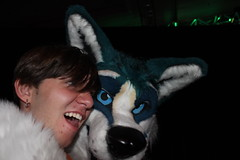 Midwest Furfest- Sunday 7 December to Monday 8 December 2014 (SperaLyoness) Tags: party dog chicago dead dance costume illinois furry midwest husky ohare rosemont il mascot suit fox convention furries hyatt neko regency deaddog mff fursuit mwff furfest relyt mwff2014
