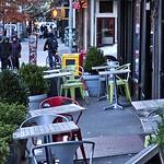 Sidewalk Cafe, November