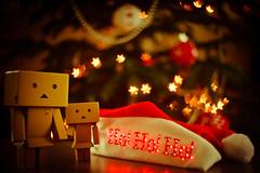 Danbo & Noël-7 (Marc Egensperger) Tags: christmas red lights noël danbo danboard sã©lection