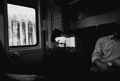 windows 2014 (Sona Maletz) Tags: world road street camera winter light boy sunset shadow wild england sky people bw sun white man black tree eye art love film home window nature composition contrast analog zeiss train 35mm lens landscape photography photo blackwhite strada shoot raw peace shadows artistic fd28mm geometry iso400 candid nowhere grain wide documentary s contax story evergreen document land g2 analogue moment situation lovestory tranquil siluette lenses emptyness doku docu sona foma maletz nocolour