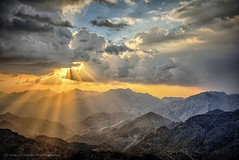 Sun rays (nabilelsherif) Tags: sky sun mountains nature clouds nikon explore rays byme ksa taif 18105mm d7100 alshafa nikond7100 nabielsherif