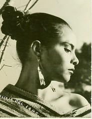 "Tarjeta Postal: ""Alicia del Lago."" (gubama) Tags: mexicana lago alicia postcard cine postal nacional postale tarjeta raices actriz"