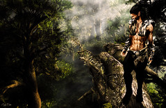 Jungle (Migan Forder) Tags: wild fantasy jungle warrior pucca elves pfc firecaster