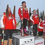 U14 Girls podium, Whistler Teck