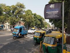 Ahmedabad Gandhi Ashram Sabarmati Gujarat India Indien (c) (hn.) Tags: auto road street november copyright india sign asia asien heiconeumeyer traffic indian transport schild gandhi ghandi tuktuk rickshaw verkehr indien gujarat ahmedabad riksha