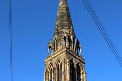Cottiers (glowingfox) Tags: winter church scotland glasgow bluesky canonglasgowcottiers