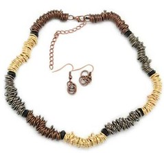 5th Avenue Gold Necklace P2010A-3