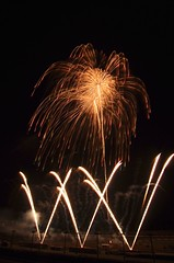 Fireworks Festival in Winter at Twin Ring Motegi (ELCAN KE-7A) Tags: winter japan pentax fireworks twin ring  circuit motegi  tochigi  2014      kikuyaobata k5s