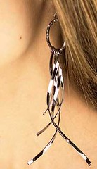 5th Avenue Black Earrings K1 P5110-2