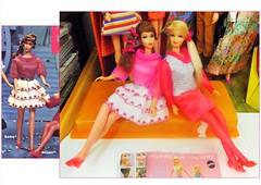 TALKING PINK (ModBarbieLover) Tags: pink 1969 stacey barbie 1968 tnt talking