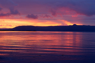 Raasay Sunset. (Explored 040115)