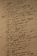 Ledger of Nathaniel Gould (Read2me) Tags: old art museum sepia paper words dof ge handwritten duele cye thechallengefactory superherowinner herowinner pregamesweepwinner