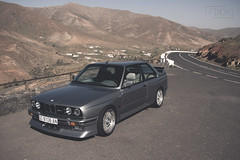 BMW M3 - 1989 (Sam Finch) Tags: old classic car silver for spain paint sale metallic forum fuerteventura bmw restoration m3 motorsport alloy