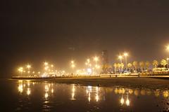 Jeddah corniche (Abdulrahman Binafif) Tags: red sea night view redsea corniche saudi arabia jeddah seafront saudiarabia ksa