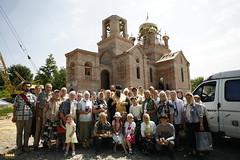 185. Первый престольный день в Адамовке 2009 г