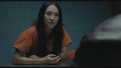 HM30 (UJB88) Tags: county orange woman female jail facility prion prisoner jumpsuit inmate handcuffed correctiona
