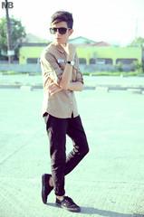 Portrait : Allen (markbenalla) Tags: portrait fashion photography nikon elle jeans lee jag vans simple tamron 90mm mossimo lookbook 2015 markbenalla