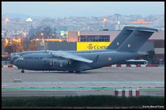 Indian Air Force Boeing C-17A Globemaster III CB-8006 & CB-8007 (Xavier Bayod Farr) Tags: barcelona geotagged force aircraft aviation indian air bcn c17 boeing globemaster avi avin aeroport spotting prat elprat indianairforce c17a globemasteriii lebl aeroportdebarcelona canoneos60d sigma120400 cb8006 cb8007