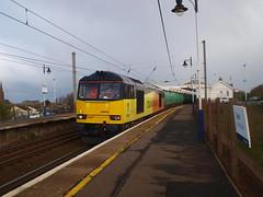 Troon -  03-06-2016 (agcthoms) Tags: station scotland trains railways troon ayrshire colas class60 60026