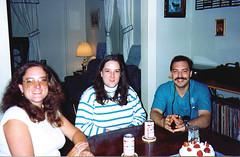 Natalies 33rd BDay 1991 02 (tineb13) Tags: birthday party leslie kelly 1991 natalie starr nock