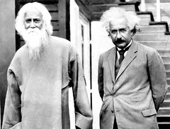 Two poets - Tagore with Einstein (kmanflickr) Tags: albert einstein unesco tagore rabindranath thakur