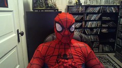 Spidey - ( Presents ) - Halloween 1 & 2 - the Movie Reviews _ (Bradley Thomas Enfield) Tags: silly halloween funny comedy humor superhero movies clowns rants