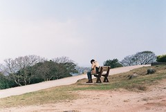 Fujicolor 100 #013 (Gerard0804) Tags: leica playing film lady 50mm f14 slide m hong kong 100 joyful playful m6 ver2 fujiflim preasph