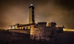 El Faro - La Serena (orrego.dma) Tags: chile canon faro luces noche la coquimbo playa paisaje tokina nubes serena 1116