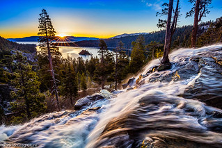 Eagle Falls Sunburst, Lake Tahoe
