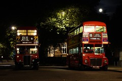 London After Dark (gooey_lewy) Tags: red moon bus london buses night dark long er time tate britain events transport double line route master routemaster rt ensign decker rm 882 aec wlt 610 llu 3251 ensignbus er882