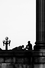Shadows and Silhouettes (rosarioarbin) Tags: shadow blackandwhite building silhouette photography photo shadows photos outdoor silhouettes