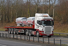 SCANIA - A J Craig  PX55 CSO (john_mullin) Tags: uk truck scotland dundee transport scottish goods vehicles lorry delivery vehicle british trucks tayside freight trucking distribution logistics supply commercials lorries haulage hgv