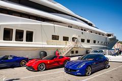 My Paradise. (Guillaume Ettori) Tags: nikon paradise yacht corse unique corsica dream ferrari ff supercar oneoff speciale trs f12 bonifacio pelorus 458 portovecchio hypercard superyacht d7100 f12trs specialea 458specialea