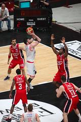 IMG_6140 (seba82) Tags: canon basket pallacanestro olimpiamilano grissinbon pallacanestroreggiana eos5dmkii seba82 sebastanosalati sebastianosalatigmailcom wwwsebastianosalatiit emporioarmanai