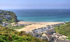 Porthtowan, Cornwall (Baz Richardson) Tags: coast seaside cornwall cliffs northcornwall porthtowan sandybeaches cornishvillages