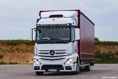 Mercedes-Benz Actros MP4 StreamSpace (Micha Szczerbowski) Tags: transport mercedesbenz mp4 firanka tomasz spotkanie actros reakcja pernak streamspace solwka ptptrans