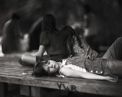 ninel (apasz) Tags: portrait film girl kodak trix 25 4x5 largeformat graflex speedgraphic 320txp aeroektar 178mm kodakaeroektar