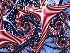 Happy Independence Day! (Ross Hilbert) Tags: fractalsciencekit fractalgenerator fractalsoftware fractalapplication fractalart algorithmicart generativeart computerart mathart digitalart fractal chaos art mandelbrotset juliaset mandelbrot julia orbittrap sculpture
