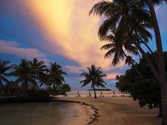 Pearl Beach Resort Sunset 2 (Geoffrey Dietrich Smith) Tags: tahiti borabora