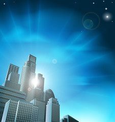 Blue corporate cityscape (jordanfurlong1) Tags: city blue windows light sky urban sun white abstract black tower art skyline architecture modern illustration skyscraper buildings corporate design town office 3d big high cityscape skyscrapers graphic drawing contemporary district background perspective property down scene structure business metropolis tall rays behind rise scape financial vector futuristic offices scraper finance